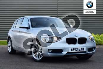 BMW 1 Series 116i SE 5dr in Glacier Silver at Listers Boston (BMW)