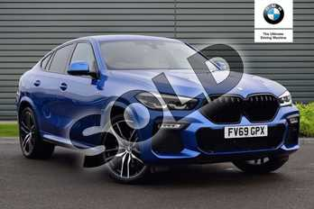 BMW X6 xDrive30d M Sport 5dr Step Auto in Riverside Blue metallic at Listers Boston (BMW)