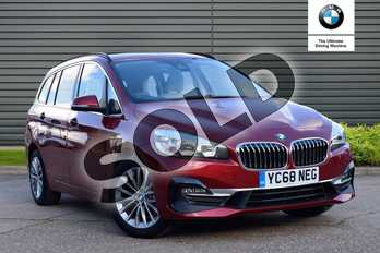 BMW 2 Series 220d xDrive Luxury 5dr Step Auto in Flamenco Red at Listers Boston (BMW)