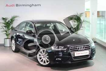 Audi A4 2.0 TDI 177 SE Technik 4dr in Phantom Black, pearl effect at Birmingham Audi