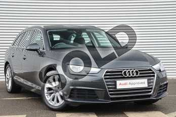 Audi A4 2.0 TDI Ultra SE 5dr in Manhattan Grey Metallic at Coventry Audi