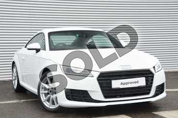 Audi TT 1.8T FSI Sport 2dr in Ibis White at Coventry Audi