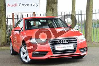 Audi A3 1.4 TFSI Sport 5dr in Brilliant Red at Coventry Audi