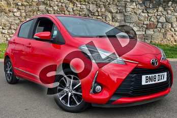 Toyota Yaris 1.5 VVT-i Icon Tech 5dr in Red Pop at Listers Toyota Coventry