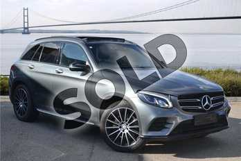Mercedes-Benz GLC GLC 250d 4Matic AMG Line Premium 5dr 9G-Tronic in Metallic - Selenite Grey at Mercedes-Benz of Hull
