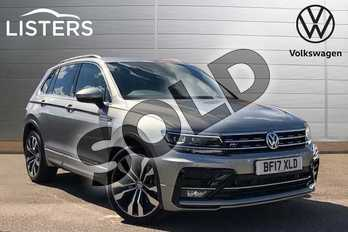 Volkswagen Tiguan 2.0 TDI 190 4Motion R Line 5dr DSG in Tungsten Silver at Listers Volkswagen Coventry