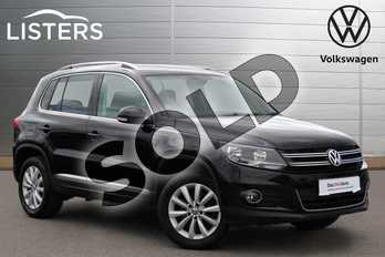 Volkswagen Tiguan 2.0 TDI BlueMotion Tech Match 5dr in Deep Black at Listers Volkswagen Nuneaton
