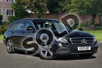 Mercedes-Benz E Class E220d SE 5dr 9G-Tronic in obsidian black metallic at Mercedes-Benz of Lincoln