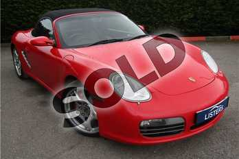 Porsche Boxster 3.2 S 2dr in Porsche metallic - Carmon red at Listers U Boston