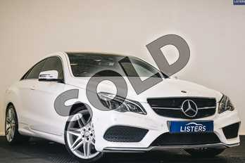 Mercedes-Benz E Class E220d AMG Line Edition 2dr 7G-Tronic in Solid - Polar white at Listers U Stratford-upon-Avon