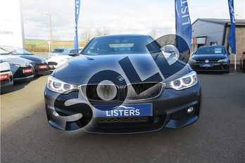 BMW 4 Series 425d M Sport 2dr Auto in Metallic - Mineral grey at Listers Toyota Grantham