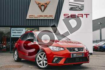 SEAT Ibiza 1.0 TSI 115 FR 5dr in Red at Listers SEAT Coventry