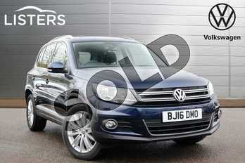Volkswagen Tiguan 2.0 TDI BlueMotion Tech Match Edition 184 5dr DSG in Night Blue at Listers Volkswagen Leamington Spa