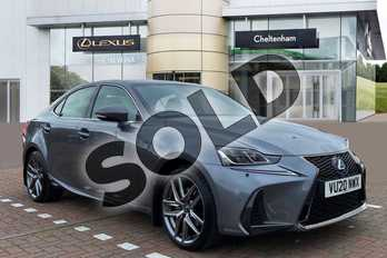 Lexus IS 300h F-Sport 4dr CVT Auto (Navigation) in Mercury Grey at Lexus Cheltenham