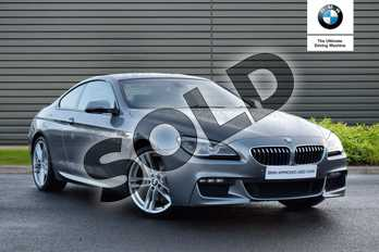 BMW 6 Series 640d M Sport 2dr Auto in Space Grey at Listers Boston (BMW)