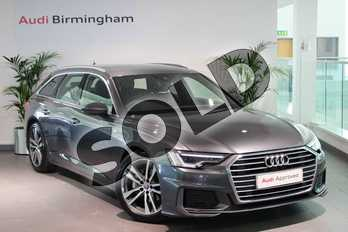 Audi A6 40 TDI S Line 5dr S Tronic in Daytona Grey Pearlescent at Birmingham Audi