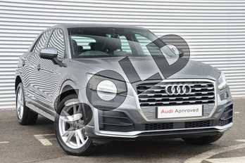 Audi Q2 1.4 TFSI S Line 5dr in Daytona Grey Pearlescent at Coventry Audi