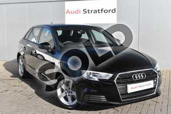 Audi A3 35 TDI SE Technik 5dr in Brilliant Black at Stratford Audi