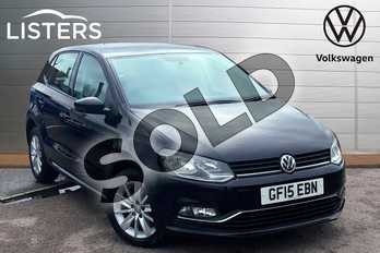 Volkswagen Polo 1.0 SE 5dr in Deep black at Listers Volkswagen Loughborough