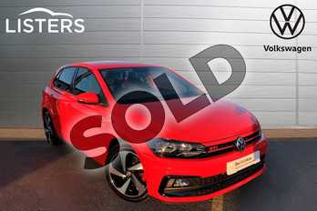 Volkswagen Polo 2.0 TSI GTI 5dr DSG in Flash Red at Listers Volkswagen Worcester
