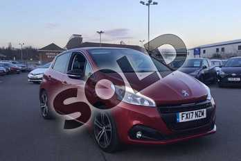 Peugeot 208 1.6 BlueHDi 120 GT Line 5dr in Red at Listers Toyota Lincoln