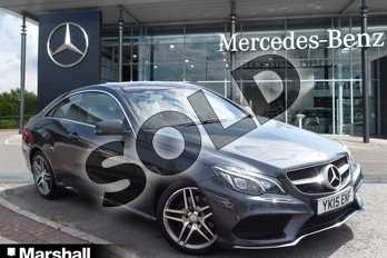 Mercedes-Benz E Class E220 BlueTEC AMG Line 2dr 7G-Tronic in Tenorite Grey metallic at Mercedes-Benz of Grimsby