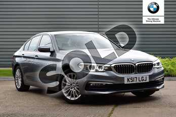 BMW 5 Series 530i SE 4dr Auto in Bluestone at Listers Boston (BMW)