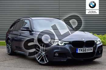 BMW 3 Series 320i M Sport Shadow Edition 5dr Step Auto in Mineral Grey at Listers Boston (BMW)