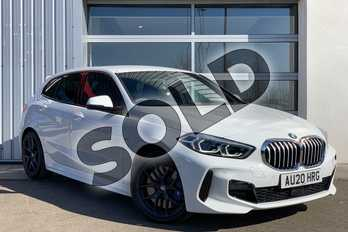 BMW 1 Series 120d xDrive M Sport 5dr Step Auto in Alpine White at Listers King's Lynn (BMW)