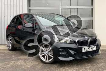 BMW 2 Series 220d xDrive M Sport 5dr Step Auto in Black Sapphire metallic paint at Listers King's Lynn (BMW)