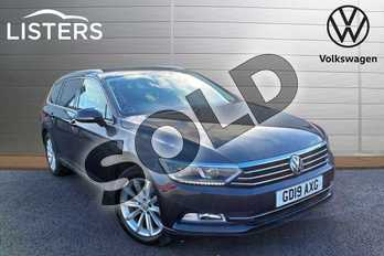 Volkswagen Passat 2.0 TDI SE Business 5dr in Manganese Grey at Listers Volkswagen Loughborough