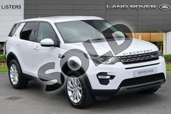 Land Rover Discovery Sport 2.0 TD4 180 SE Tech 5dr in Fuji White at Listers Land Rover Hereford