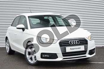 Audi A1 1.6 TDI Sport 5dr in Shell White at Coventry Audi