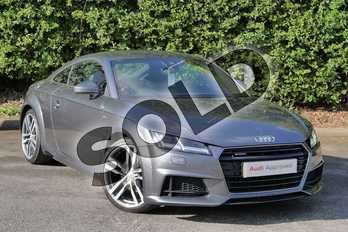 Audi TT 2.0T FSI Quattro S Line 2dr S Tronic in Daytona Grey Pearlescent at Worcester Audi