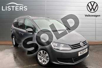 Volkswagen Sharan 2.0 TDI CR BlueMotion Tech 150 SE Nav 5dr DSG in Indium Grey at Listers Volkswagen Worcester