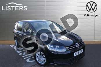 Volkswagen Sharan 2.0 TDI CR BlueMotion Tech 150 S 5dr in Deep Black at Listers Volkswagen Worcester