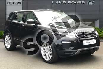 Range Rover Evoque 2.0 TD4 SE Tech 5dr in Santorini Black at Listers Land Rover Droitwich