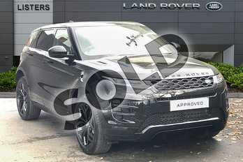 Range Rover Evoque 2.0 D180 R-Dynamic SE 5dr Auto in Santorini Black at Listers Land Rover Droitwich