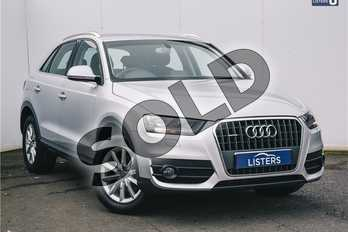 Audi Q3 2.0 TDI (177) Quattro SE 5dr S Tronic in Metallic - Ice silver at Listers U Solihull
