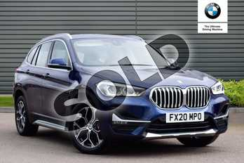 BMW X1 sDrive 18d xLine 5dr in Mediterranean Blue at Listers Boston (BMW)