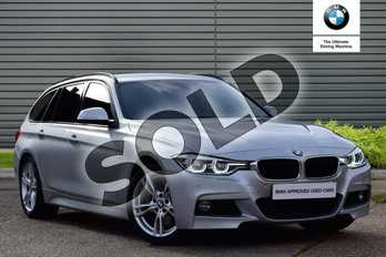 BMW 3 Series 330d M Sport 5dr Step Auto in Glacier Silver at Listers Boston (BMW)