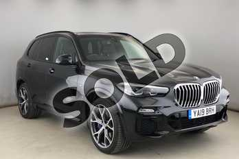 BMW X5 xDrive40i M Sport 5dr Auto in Black Sapphire metallic paint at Listers King's Lynn (BMW)