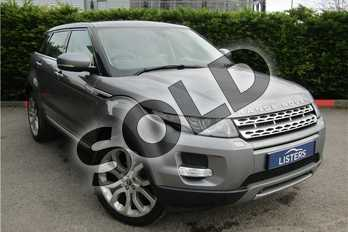 Range Rover Evoque 2.2 SD4 Prestige 5dr Auto in Metallic - Orkney grey at Listers U Boston
