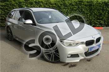 BMW 3 Series 320d M Sport 5dr Step Auto in Metallic - Glacier Silver at Listers U Boston