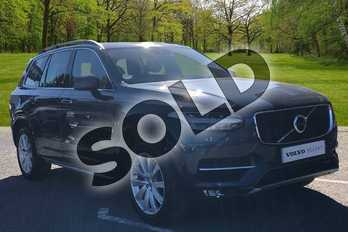 Volvo XC90 2.0 D5 PowerPulse Momentum 5dr AWD Geartronic in Denim Blue at Listers Volvo Worcester
