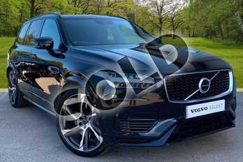 Volvo XC90 2.0 T8 (390) Hybrid R DESIGN Pro 5dr AWD Gtron in Onyx Black at Listers Volvo Worcester