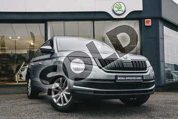 Skoda Kodiaq 1.4 TSI 150 SE 4x4 5dr (7 Seat) in Business Grey at Listers ŠKODA Coventry