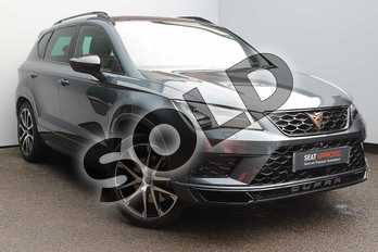 CUPRA Ateca 2.0 TSI 5dr DSG 4Drive (Comfort + Sound pack) in Grey at Listers SEAT Worcester