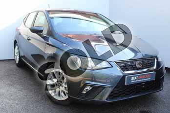 SEAT Ibiza 1.0 TSI 95 SE Technology (EZ) 5dr in Magnetic Grey at Listers SEAT Worcester