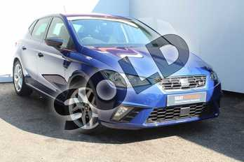 SEAT Ibiza 1.0 TSI 95 FR 5dr in Mystery Blue at Listers SEAT Worcester